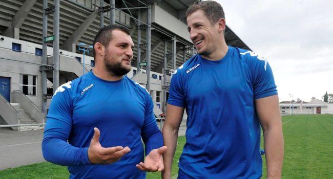 Mihai Macovei si Otar Turashvili au inceput antrenamentele cu noua echipa, Colomiers.