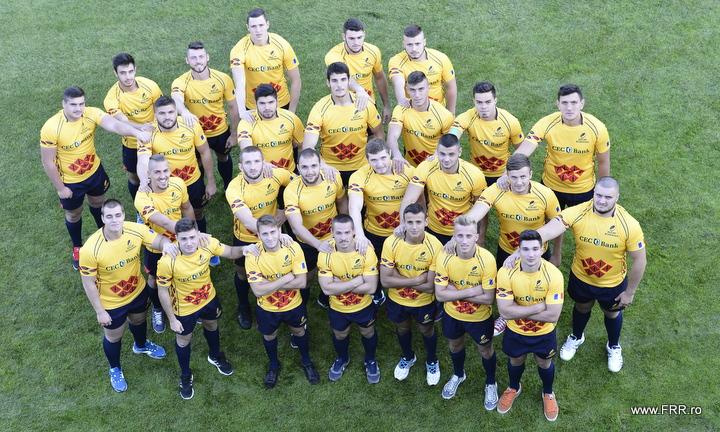 Primul XV pentru finala de astazi, cu Spania, de la Campionatul European U19.