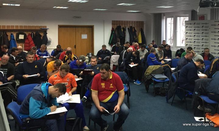 La Federatia Romana de Rugby a avut loc examenul de licentiere a antrenorilor.