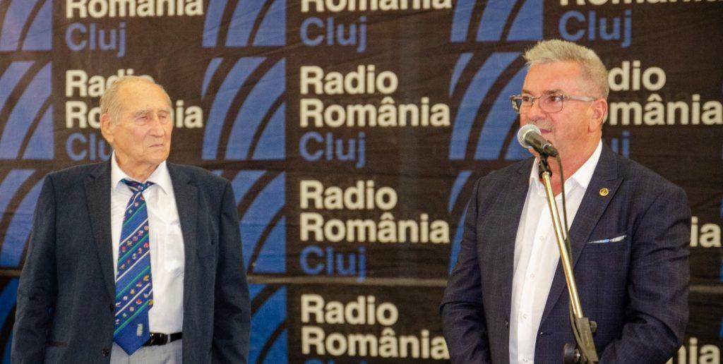 Emil Pîrțoc și Mircea Rusu.